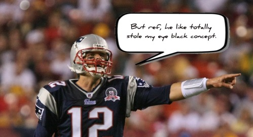 Tom Brady_eye black