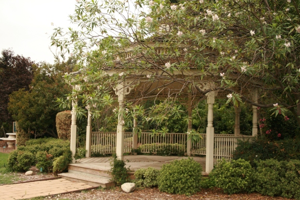 A perfect little gazebo.