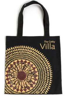 Getty bag. Because totes from the MET are just basic.